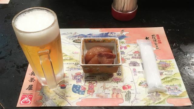 花茶屋生ビール